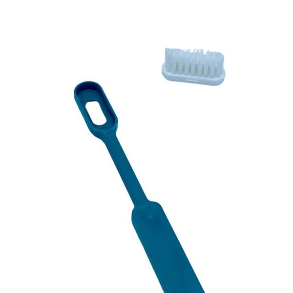 Caliquo Brosse à dents rechargeable écologique Bleu turquoise 2