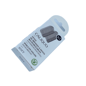 Caliquo Pack de deux recharges pour brosses à dent écologiques Souple