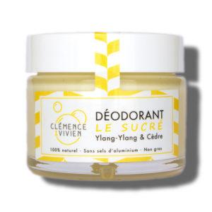 Clemence et Vivien Deodorant Le Sucre Ylang Ylang Cedre