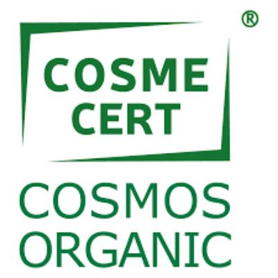 label Cosmecert Cosmos Organic