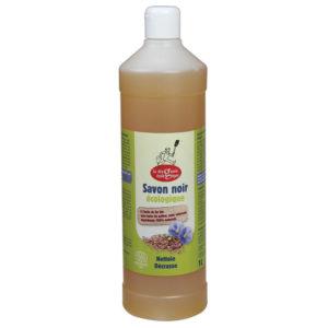 La droguerie écologique Savon noir liquide à l huile de lin 1 L