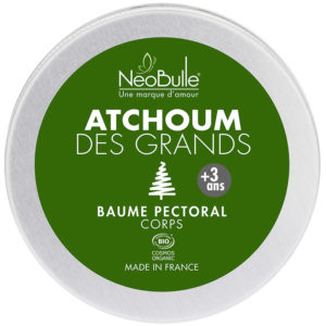 Neobulle Atchoum des grands baume pectoral 50g