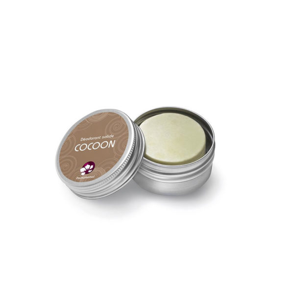 Pachamamaï Déodorant solide Cocoon boite métal