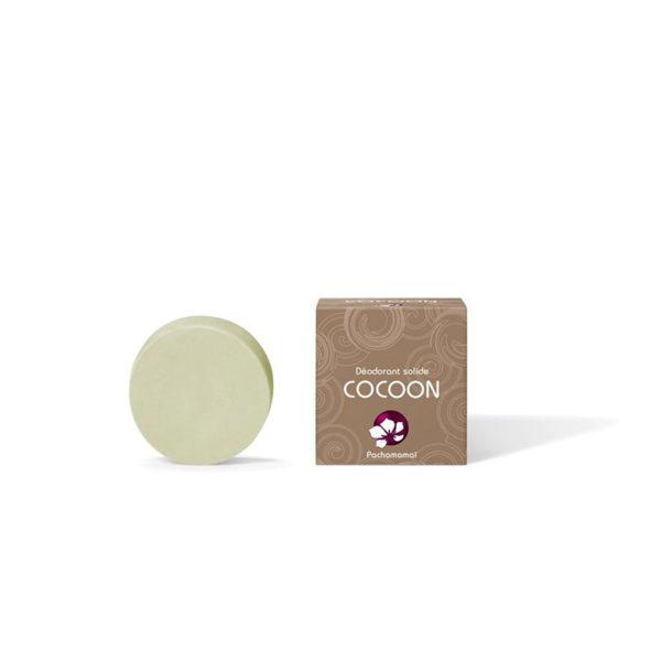 Pachamamaï Déodorant solide Cocoon recharge boite carton
