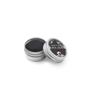 Pachamamaï Dentifrice solide Black is black au charbon boite métal