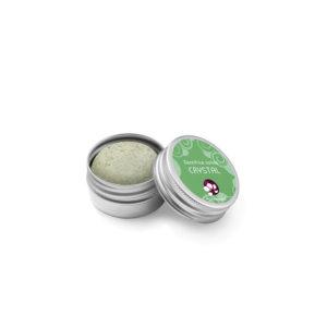 Pachamamaï Dentifrice solide Crystal aux deux menthes boite métal