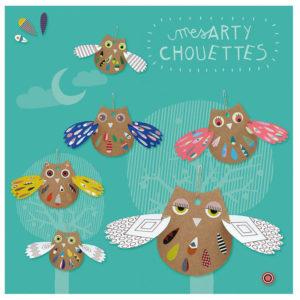 Pirouette Cacahouète Kit créatif Mes Arty Chouettes