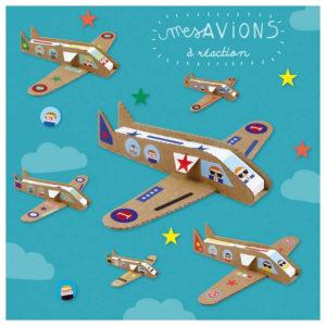 Pirouette Cacahouète Kit créatif Mes Avions à Réaction