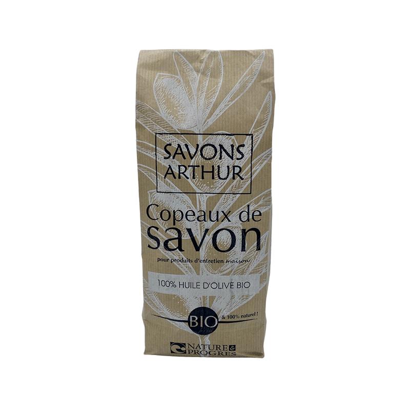 Savons Arthur Copeaux de savon à l'huile d'olive bio 750 g