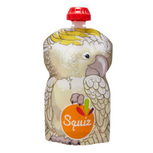 Squiz gourdereutilisable australie cacatoes 130ml