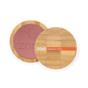 ZaoMakeUp fardajoues produitcomplet brunrose 322