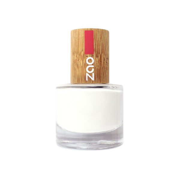 ZaoMakeUp vernisaongles frenchmanicureblanc 641