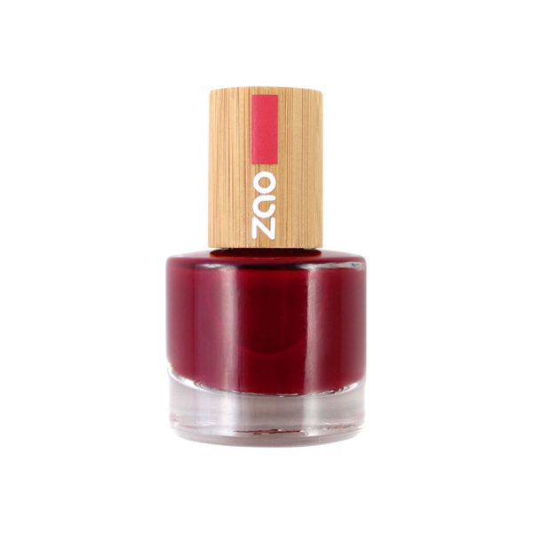 ZaoMakeUp vernisaongles rougepassion 668