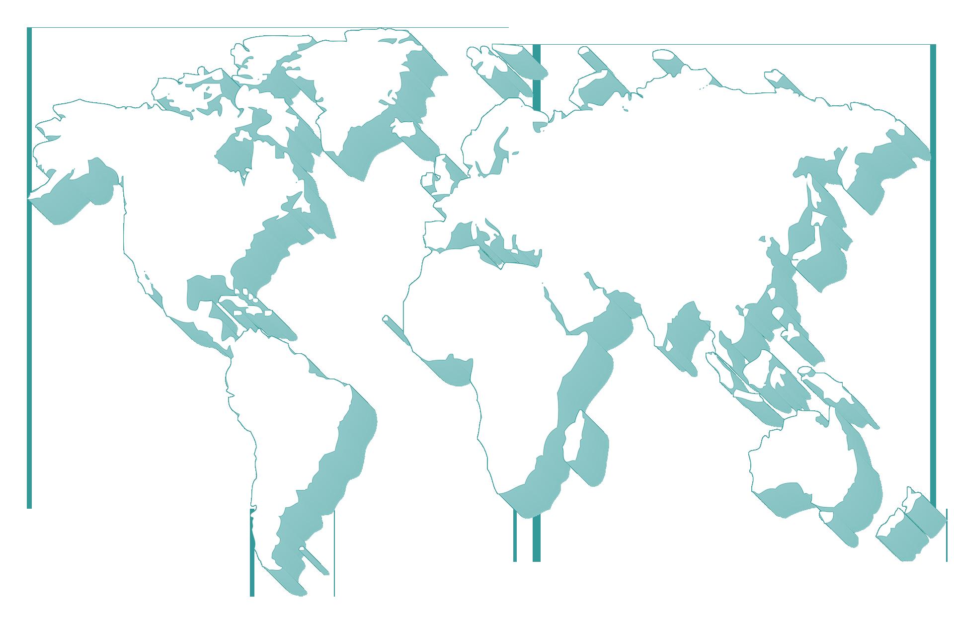 carte du monde ombre 1